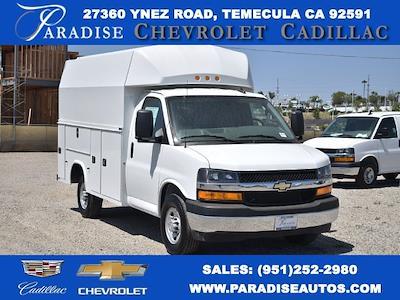 2021 Chevrolet Express 3500 4x2, Knapheide KUV Plumber #M21338 - photo 1