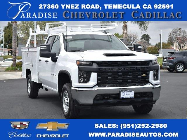 2021 Chevrolet Silverado 2500 Double Cab 4x2, Scelzi Service Body #M21366 - photo 1