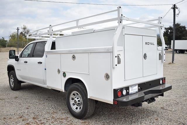 2021 Chevrolet Silverado 3500 Crew Cab 4x2, Royal Truck Body Utility #M21422 - photo 6