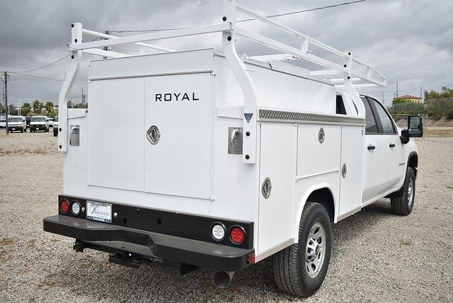 2021 Chevrolet Silverado 3500 Crew Cab 4x2, Royal Truck Body Utility #M21422 - photo 1