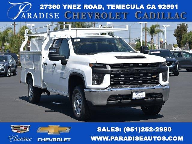 2021 Chevrolet Silverado 2500 Double Cab 4x2, Royal Truck Body Service Body Utility #M21424 - photo 1