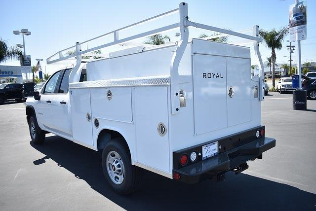 2021 Chevrolet Silverado 2500 Double Cab 4x2, Royal Truck Body Service Body Utility #M21424 - photo 6