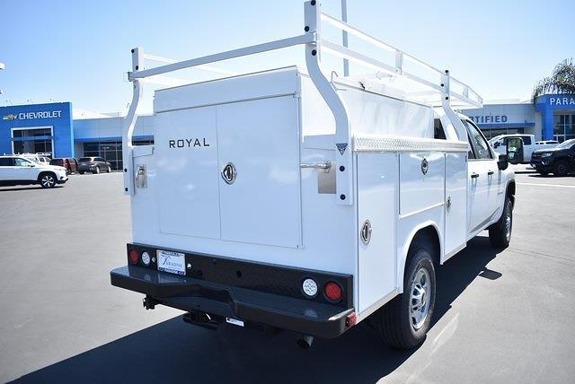2021 Chevrolet Silverado 2500 Double Cab 4x2, Royal Truck Body Service Body Utility #M21424 - photo 2