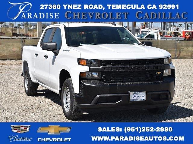 2021 Chevrolet Silverado 1500 Crew Cab 4x2, Pickup #M21425 - photo 1