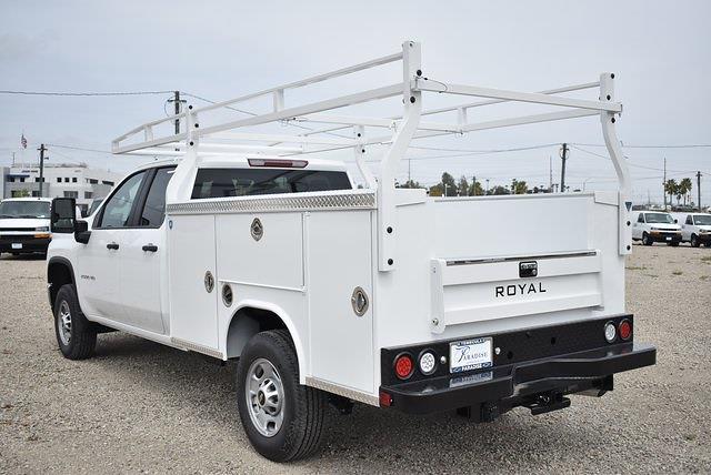 2021 Chevrolet Silverado 2500 Double Cab 4x2, Royal Truck Body Service Body Utility #M21428 - photo 6