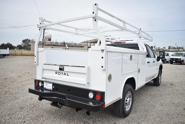 2021 Chevrolet Silverado 2500 Double Cab 4x2, Royal Truck Body Utility #M21428 - photo 1