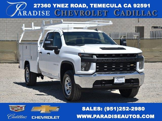 2021 Chevrolet Silverado 3500 Double Cab 4x4, Harbor TradeMaster Utility #M21436 - photo 1