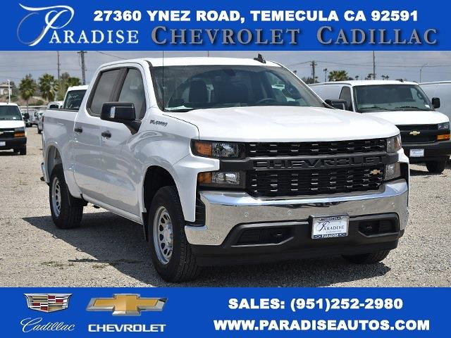 2021 Chevrolet Silverado 1500 Crew Cab 4x2, Pickup #M21444 - photo 1