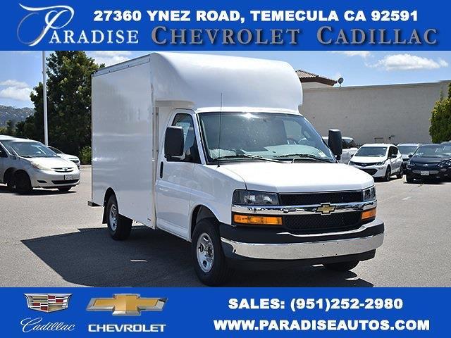 2021 Chevrolet Express 3500 4x2, Supreme Spartan Cargo Straight Box #M21450 - photo 1