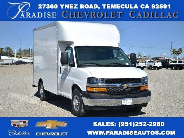 2021 Chevrolet Express 3500 4x2, Supreme Spartan Cargo Straight Box #M21452 - photo 1