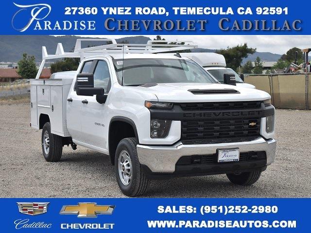 2021 Chevrolet Silverado 2500 Double Cab 4x2, Scelzi Signature Utility #M21470 - photo 1