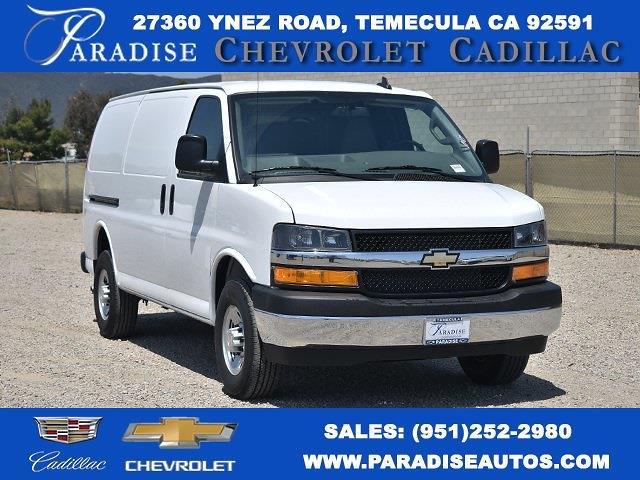 2021 Chevrolet Express 2500 4x2, Masterack Upfitted Cargo Van #M21482 - photo 1