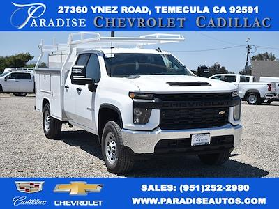 2021 Chevrolet Silverado 3500 Double Cab 4x4, Harbor TradeMaster Utility #M21488 - photo 1