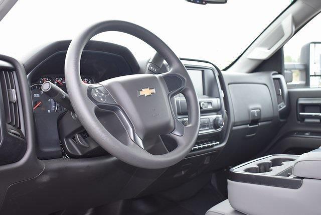 2021 Chevrolet Silverado 4500 Regular Cab DRW 4x2, Scelzi Flat/Stake Bed #M21499 - photo 11