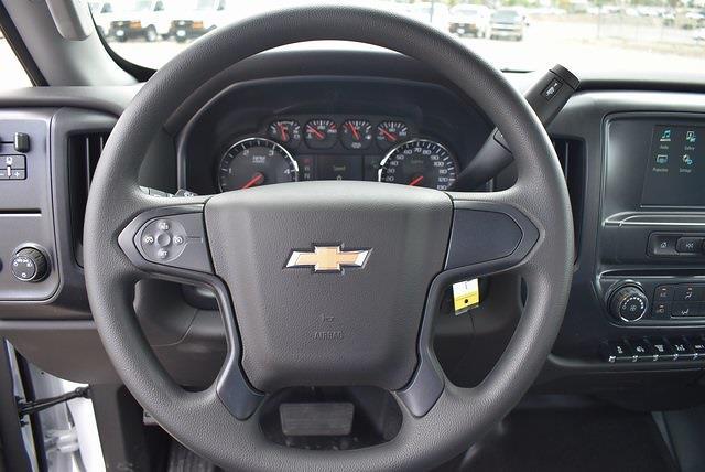 2021 Chevrolet Silverado 4500 Regular Cab DRW 4x2, Scelzi Flat/Stake Bed #M21499 - photo 12