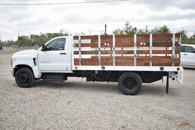 2021 Chevrolet Silverado 4500 Regular Cab DRW 4x2, Scelzi Flat/Stake Bed #M21499 - photo 5