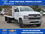 2021 Chevrolet Silverado 4500 Regular Cab DRW 4x2, Scelzi Flat/Stake Bed #M21499 - photo 1