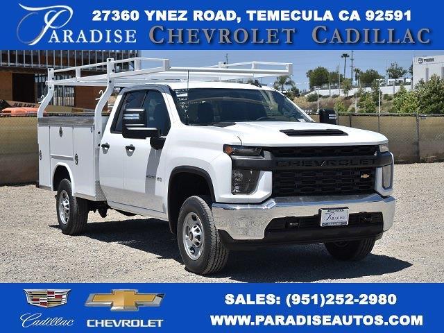 2021 Chevrolet Silverado 2500 Double Cab 4x2, Royal Truck Body Service Body Utility #M21523 - photo 1