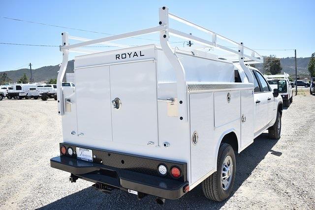 2021 Chevrolet Silverado 2500 Crew Cab 4x2, Royal Truck Body Service Body Utility #M21525 - photo 2