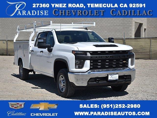 2021 Chevrolet Silverado 2500 Crew Cab 4x2, Royal Truck Body Service Body Utility #M21531 - photo 1