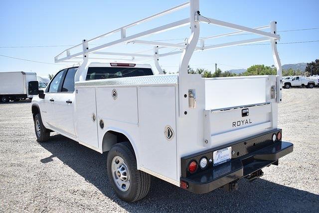 2021 Chevrolet Silverado 2500 Crew Cab 4x2, Royal Truck Body Service Body Utility #M21531 - photo 6
