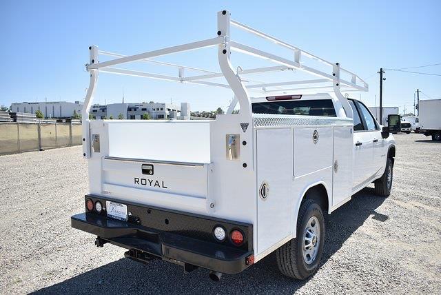 2021 Chevrolet Silverado 2500 Crew Cab 4x2, Royal Truck Body Service Body Utility #M21531 - photo 2
