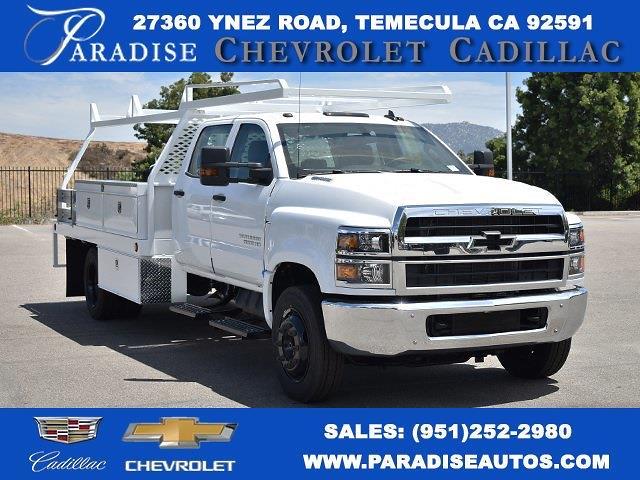 2021 Chevrolet Silverado 4500 Crew Cab DRW 4x2, Scelzi CTFB Contractor Body #M21549 - photo 1