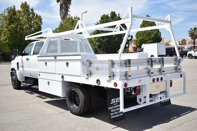2021 Chevrolet Silverado 4500 Crew Cab DRW 4x2, Scelzi CTFB Contractor Body #M21549 - photo 6