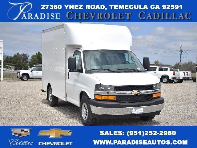 2021 Chevrolet Express 3500 4x2, Supreme Spartan Cargo Straight Box #M21564 - photo 1