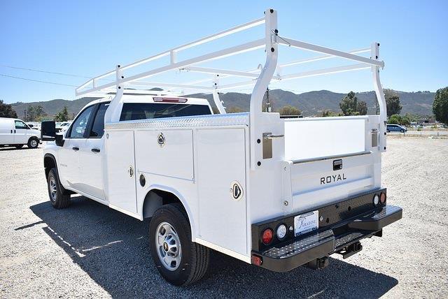 2021 Chevrolet Silverado 2500 Double Cab 4x2, Royal Truck Body Service Body Utility #M21591 - photo 6