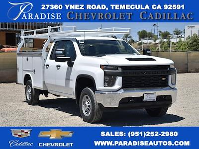 2021 Chevrolet Silverado 2500 Double Cab 4x2, Royal Truck Body Service Body Utility #M21591 - photo 1