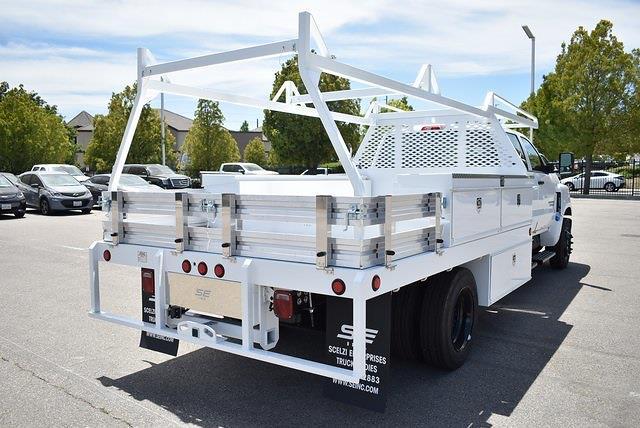 2021 Chevrolet Silverado 4500 Crew Cab DRW 4x2, Scelzi CTFB Contractor Body #M21593 - photo 2