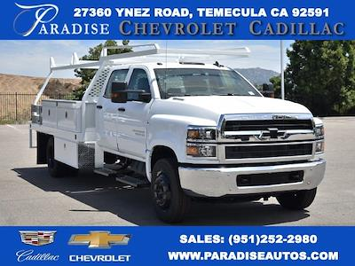 2021 Chevrolet Silverado 4500 Crew Cab DRW 4x2, Scelzi CTFB Contractor Body #M21593 - photo 1