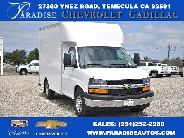 2021 Chevrolet Express 3500 4x2, Supreme Spartan Cargo Straight Box #M21594 - photo 1