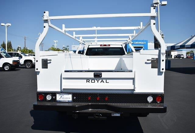 2021 Silverado 3500 Regular Cab 4x2,  Royal Truck Body Service Body #M21739 - photo 7