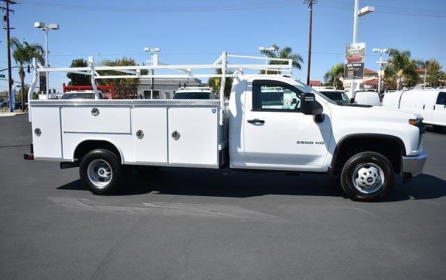 2021 Silverado 3500 Regular Cab 4x2,  Royal Truck Body Service Body #M21739 - photo 8