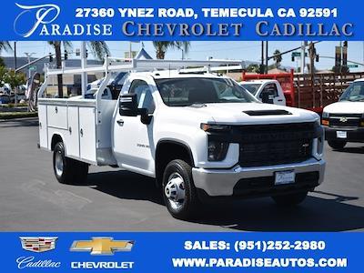 2021 Silverado 3500 Regular Cab 4x2,  Royal Truck Body Service Body #M21739 - photo 1