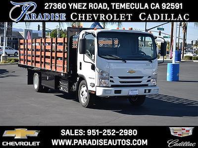 2022 LCF 5500XD Regular Cab 4x2,  Custom Truck Body & Equipment, Inc. Stake Bed #M22004 - photo 1