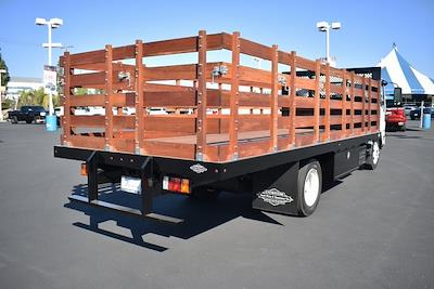 2022 LCF 5500XD Regular Cab 4x2,  Custom Truck Body & Equipment, Inc. Stake Bed #M22004 - photo 2