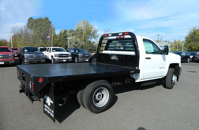2015 Silverado 3500 Regular Cab 4x4, Reading Platform Body #F146246 - photo 2