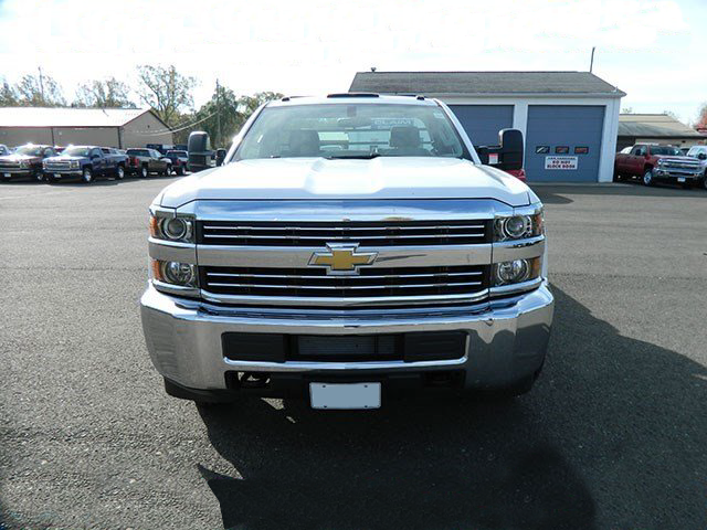 2015 Silverado 3500 Regular Cab 4x4,  Reading Platform Body #F146246 - photo 4