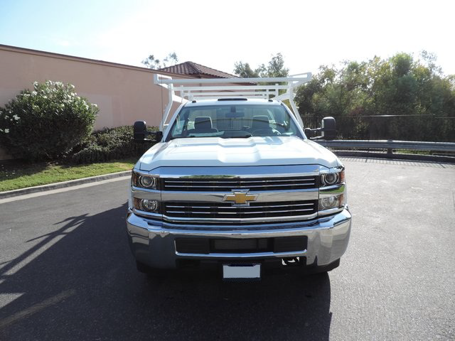 2015 Silverado 3500 Regular Cab, Harbor Combo Body #F148495 - photo 3