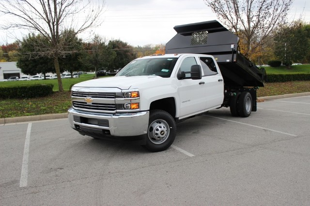 2015 Silverado 3500 Crew Cab 4x4, Knapheide Drop Side Dump Bodies Dump Body #KNAPF163209 - photo 3