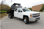2015 Silverado 3500 Crew Cab 4x4, Knapheide Drop Side Dump Bodies Dump Body #KNAPF163209 - photo 1