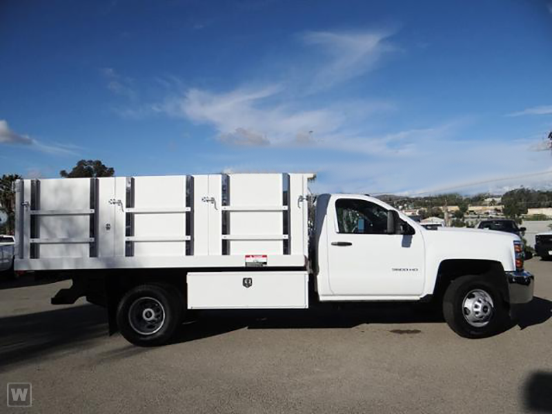 2015 Silverado 3500 Regular Cab, Harbor Landscape Dump #F178610 - photo 4