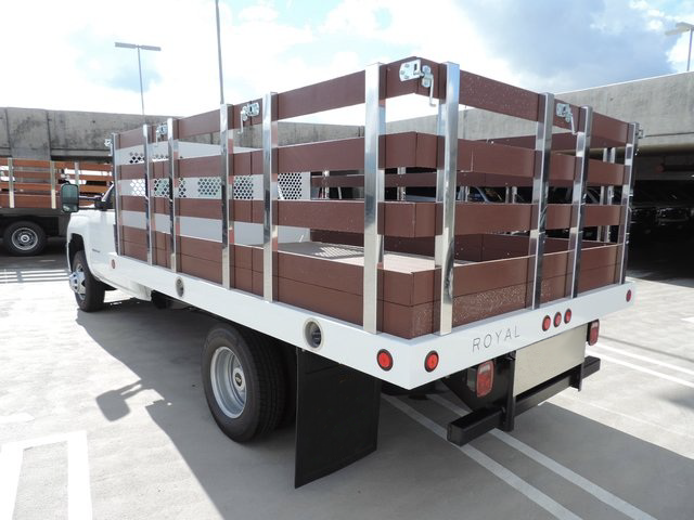 2015 Silverado 3500 Regular Cab 4x2,  Royal Stake Bed #F506779 - photo 2