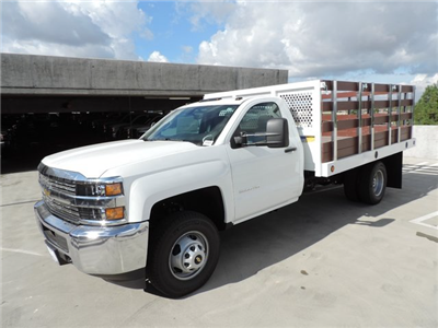 2015 Silverado 3500 Regular Cab 4x2,  Royal Stake Bed #F506779 - photo 1