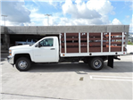 2015 Silverado 3500 Regular Cab 4x2,  Royal Stake Bed #F506779 - photo 4