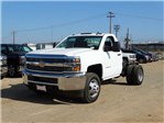 2015 Silverado 3500 Regular Cab, Cab Chassis #F512686 - photo 1