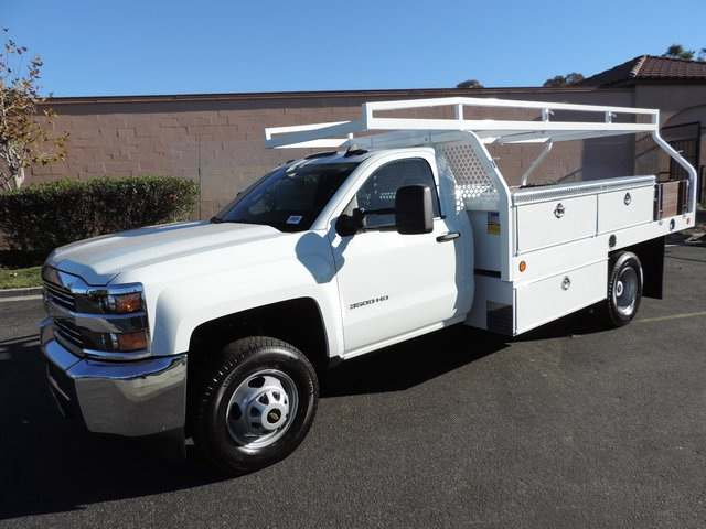 2015 Silverado 3500 Regular Cab 4x2,  Royal Contractor Body #F532906 - photo 1